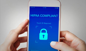 Hipaa compliant text messaging system