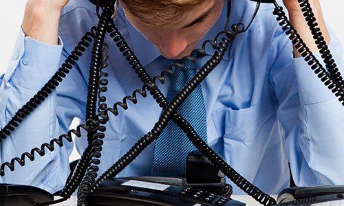 handling overflow call volume call center
